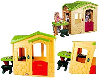 Little Tikes Picnic On The Patio Playhouse - Natural Green