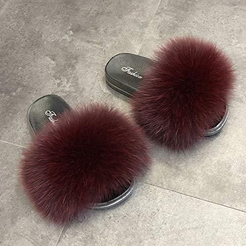 Kirin-1 Chanclas de goma para mujer, zapatillas Thicks impermeables para playa, 1 sandalias, 40_albaricoque-B