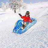 WUYANSE Winter Snow Tube - 4 ft aufblasbarer Schlitten für