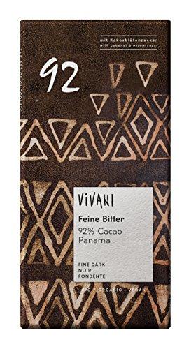 Vivani - Feine Bitter 92% Chocolate Bar - 80g