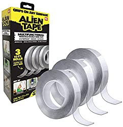 top 10 as seen on tv ALIENTAPE Nano Double-sided adhesive tape, removable multipurpose adhesive tape for transparent adhesive tape for grips …