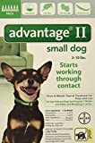 Advantage II for Dogs 10 lbs and Under 6 Pack