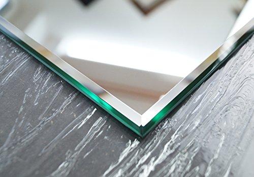 Wandspiegel Kristallspiegel Badspiegel 160 x 60 cm Steilfacette