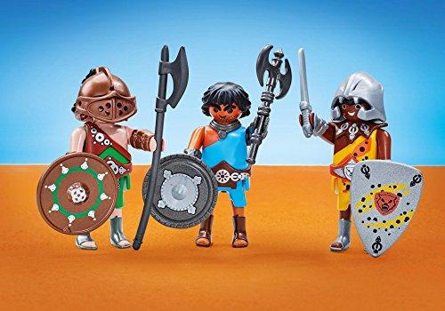 Playmobil 6590 - Romains - Les 3 Gladiateurs - Emballage
