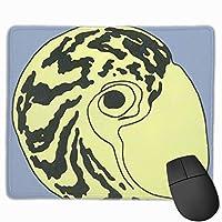 マウスパッド 貝殻 人目 Mousepad ミニ 小さい おしゃれ 耐久性が良 滑り止めゴム底 表面 防水 コンピューターオフィス ゲーミング 25 x 30cm