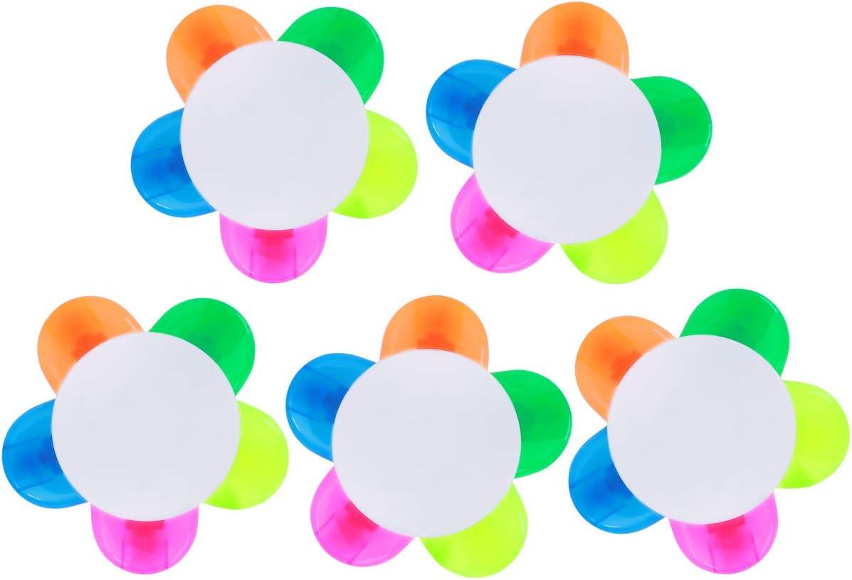 It is very popular sale NUOLUX 5pcs Petals Highlighters Watercolor Mar Fluorescent Petal