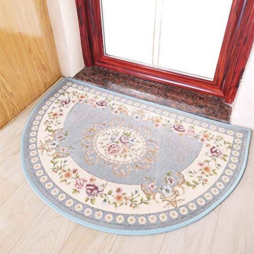 SXFYWYL Badezimmer-Matte Halbrunder Rutschfester Boden-Teppich-Wohnzimmer-Schlafzimmer-Toiletten-Teppich,A,60 * 90CM
