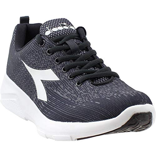 Diadora Womens X-Run 2 Light Running Casual Shoes, Grey, 9.5