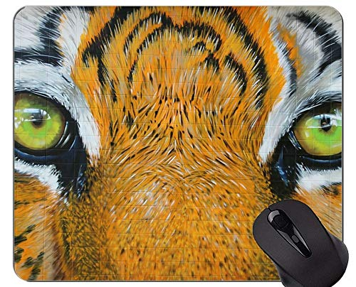 Yanteng Mousepad Dibujado a Mano Tiger Gaming Mouse Pad, Tiger Office Mouse Pad