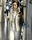 Carrie Fisher Autographed Photo