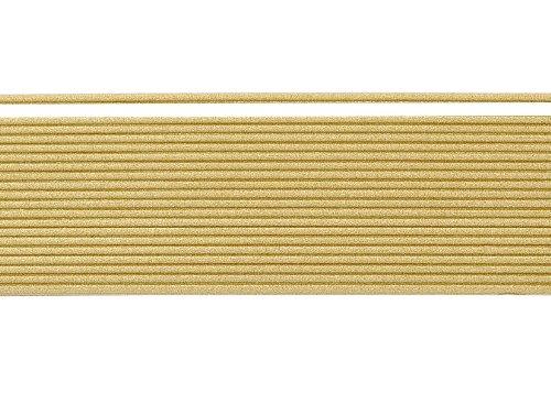 """Wachsstreifen / Verzierwachs """"Bronzegold (matt)"""" (20 Stück / 20 cm x 1 mm) TOP QUALITÄT"""