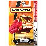 Matchbox 2008 54 '78 Dodge Monaco Police Car 1:64 Scale Collectible Die Cast Car
