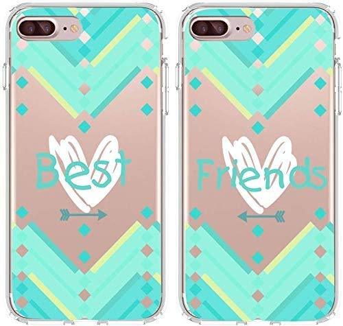 Shark Compatible Infinity Heart Arrow Aztec Best Friends Style Matching Couple Cases for (iPhone 6)