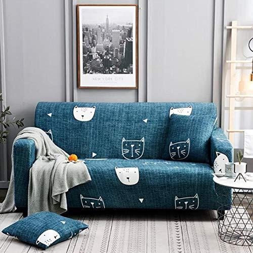 Allenger Funda de Sofá Poliéster,Funda de sofá elástica, Toalla de sofá de Cobertura Completa, Funda de cojín de Sala de Estar, Funda de protección de Muebles-Color 31_190-230cm