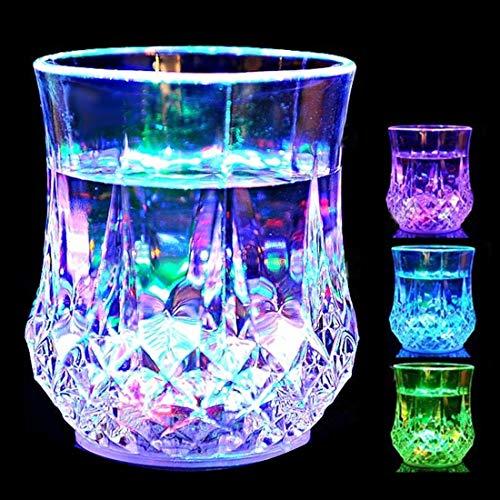 YOUZHIXUAN Coupe créative colorée LED Ananas lumière Arc-en-Ciel Coupe de Couleur