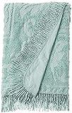 Beatrice Home Fashions Medallion Chenille Bedspread