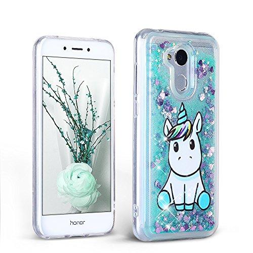 Cover per Samsung Galaxy A10 (Custodia Huawei Honor 6A PRO, Mint Green Quicksand)