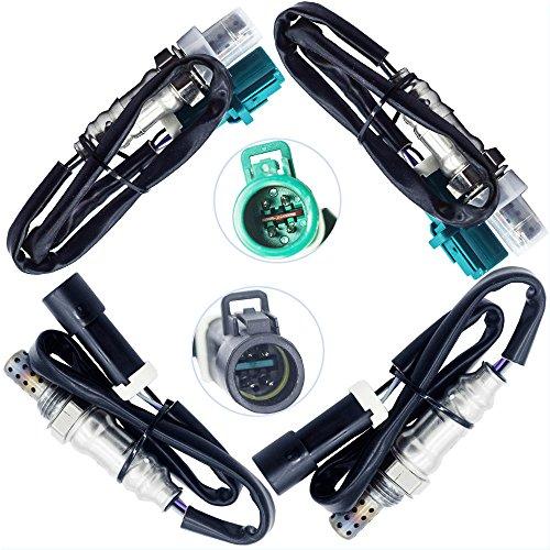 Sangyue Oxygen Sensor 1 Sensor 2 O2 02 for Ford F-150 2004-2008 4.2L 4.6L 5.4L Lincoln Mark LT 5.4L 2006-2008 Upstream + Downstream 4PCS