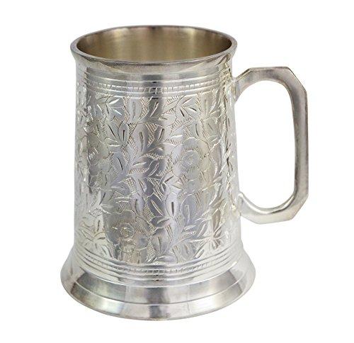 Alchemade Antique Beer Stein, 20 oz, Silver