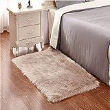 Faux pelliccia di agnello di pecora tappeto,Pelliccia sintetica Tappeto vello di pecora - ...