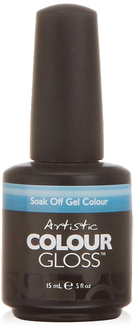 ファブリック年齢冷淡なArtistic Colour Gloss - MisStep - 0.5oz/15ml