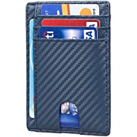 Toughergun RFID Blocking Minimalist Genuine Leather Slim Front Pocket Wallet (various colors)