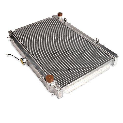 52mm Aluminum Radiator For NISSAN 240SX SILVIA S14 S15 SR20/SR20DET MT 95-98