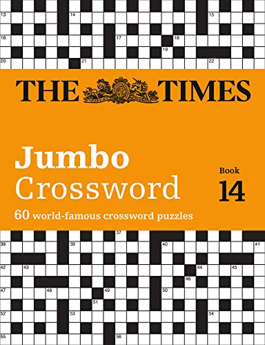 The Times 2 Jumbo Crossword Book 14: 60 of the World's Biggest Puzzles from the Times 2 (The Times Crosswords)