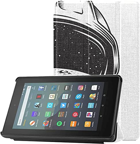 Cubierta Funda para Tableta Kindle Muy Agradable y Fresca Casco Kindle 7 Fire Funda para Tableta Fire 7 (novena generación, versión 2019) Ligero con Reposo/activación automático