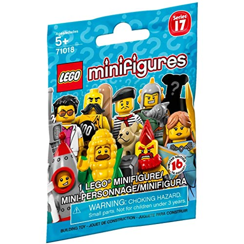 LEGO Series 17 Minifigures - Complete Set of 16 Minifigures (71018)