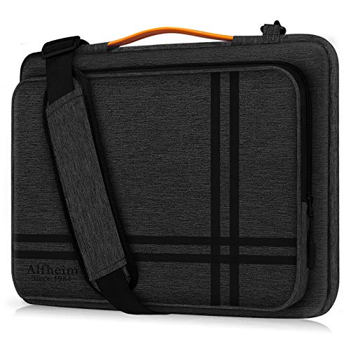 Alfheim 15.6-16 Inch Laptop Sleeve, Shock-Resistant Briefcase with Handle & Accessory Pocket, 360°Protective Durable & Lightweight Shoulder Bag Compatible with 16 inch Macbook Pro A1398