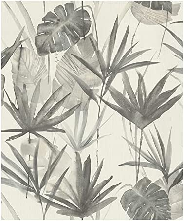 Unknown1 Ranking TOP3 Grey Tropical 2021new shipping free shipping Wallpaper 20.5 X Nature Wildlife Vinyl