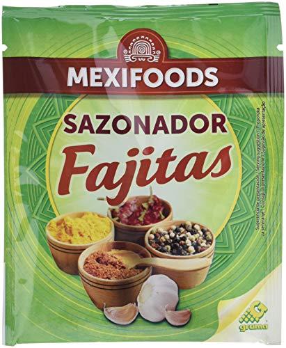 Mexifoods Sazonador Fajitas - 7 Paquetes de 30 gr - Total: 210 gr