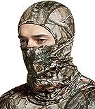 TSLA Thermal Winter Balaclava Face Mask, UV Protection Fleece Lined Ski Mask, Lightweight Windproof Neck Gaiter, Thermal Balaclava(yzb06) - Hunting Camo, Medium