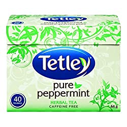 Peppermint tea has soothing properties for throat and congestion and therefore is the base of our tea home remedy.
