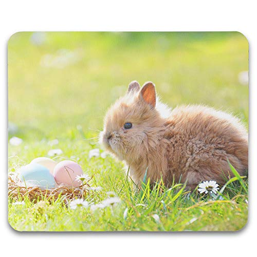 Kopierladen Mousepad/Mauspad mit eigenem Foto oder Motiv selbst gestalten und Bedrucken, ca. 22 x 18 cm, Stoff-Oberfläche, rutschfest und flexibel - Fotogeschenk