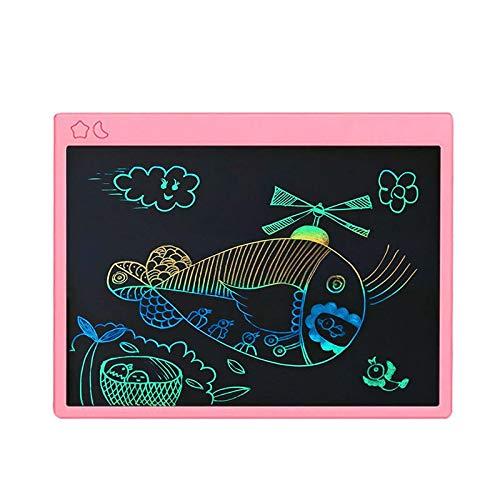 Tableta de dibujo LCD de 16 pulgadas Tableta de escritura ultrafina Juego de dibujo de escritura a mano Juguetes de dibujo recargables para niños de 16 pulgadas en color rosa