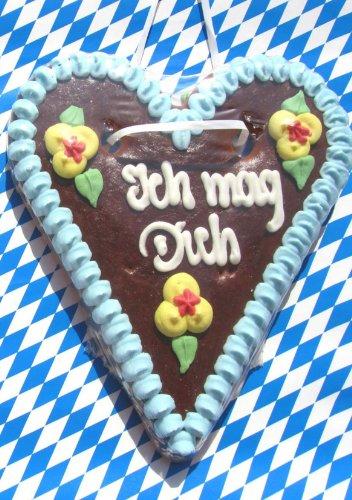 Ich Mag Dich: Notizbuch, Notizheft, Din A5, zum Verschenken, Bayerische Liebe, Oktoberfest