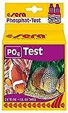 Sera 04930 Test de fosfato (P04), Prueba de Agua para Aprox. 60 mediciones, Mide de Forma fiable y precisa el Contenido de fosfatos, para Agua Dulce y de mar, en Acuario o Estanque