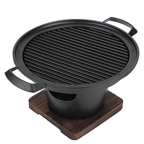 Domowy przenośny mini grill bezdymny grill na węgiel drzewny akcesoria do grillowania, 26x21x12,5cm