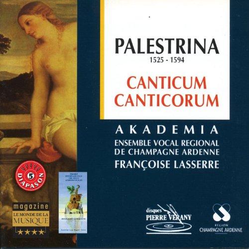 Canticum Canticorum : Sicut lilium inter spinas Introduxit me Rex Laeva Ejus