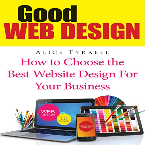 Good Web Design audiobook cover art