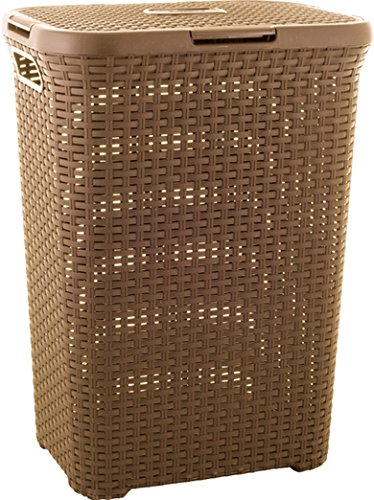 Preisvergleich Produktbild CURVER Wäschebox,  Plastik,  braun,  30 x 40 x 60 cm