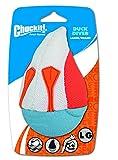 Chuckit! 187001 Amphibious Duck Diver Pelota Flotante para Perros, Compatible con el Lanzador, L