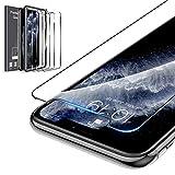 LK Compatible con iPhone 11 / iPhone XR Protector de Pantalla,3 Pack,9H Dureza Cristal Templado, Equipado con Marco de Posicionamiento,Vidrio Templado Screen Protector,LK-X-45