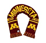 Tradition Scarves Minnesota Golden Gophers Scarf - University of Minnesota Knitted