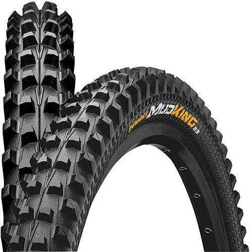 Continental Mud King 2.3 Apex Fahrrad Reifen // 57-584 (27,5×2,25´´) 650B, Ausführung:schwarz, Drahtreifen