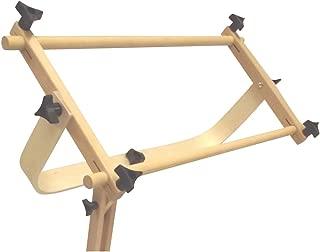 Frank A. Edmunds Sticher's Wonder! Adjustable Craft Stand with Split Rail Scroll Frame, 6115