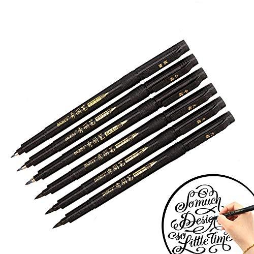 Nero Lettering Penne Calligrafia,Tombow Brush Pen,Lettering penne nero inchiostro pennello penna,Nero Lettering Penne,Pennello Marker Nero,Brush Pen Pennarello,Lettering Penne,calligrafia pen