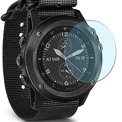 Puccy 3 Pack Anti Blue Light Screen Protector Film, Compatible with Garmin Tactix Bravo TPU Guard ( Not Tempered Glass Protectors )